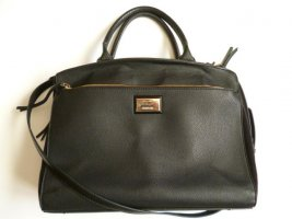 PARFOIS Handtasche, Tabletfach, schwarz, Business-Look