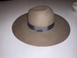 Parfois Chapeau en feutre beige-gris foncé
