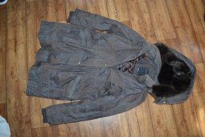 Cosima Short Coat dark brown-black brown