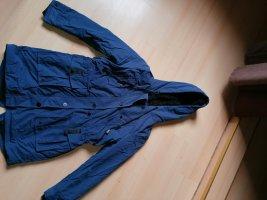Parka dark blue
