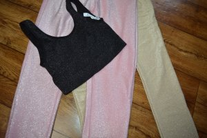 Party Glitzer Top bauchfrei 36 Urban Outfitters
