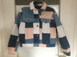 Asos Denim Veste en jean multicolore