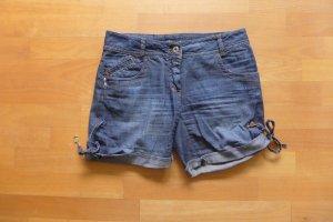 Patrizia Pepe Pantaloncino di jeans multicolore