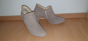 Paul Green Ankle Boots rosewood Gr. 40 mit Even&Odd Loopschal beige/pink