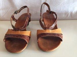 Paul Green Comfort Sandals cognac-coloured-light orange