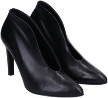 Paul Green High Heel Schuhe aus Leder in schwarz Gr. 40 NP 139,95€