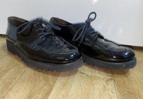 Paul Green München Wingtip Shoes black