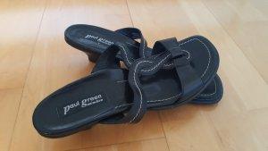 Paul Green Babouche noir cuir