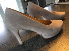 Paul Green Plateauzool pumps beige-grijs-bruin