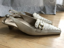 Paul Green Slingback Pumps oatmeal leather