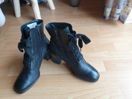 Paul Green Bottines à lacets noir