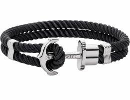 Paul Hewitt Bracelet noir-argenté