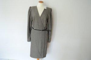 PAUL & JOE Paris Kleid im Glencheck Style mit Gürtel NEU! UVP 380,-€ L 38