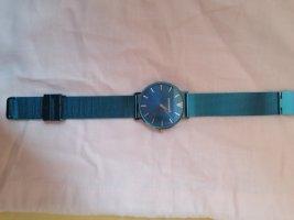 Paul Valentine Uhr Blue Mesh Armband dunkelblau