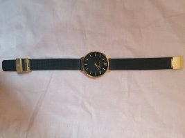 Paul Valentine Uhr Pearl Gold Black Mesh