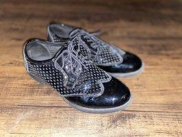 Pavement Zapatos brogue negro