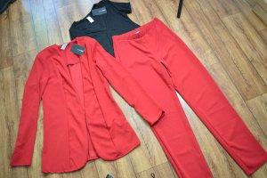 Payin' It Forward Blazer-Set  Burgund Gr. 38 Fashion Nova rot