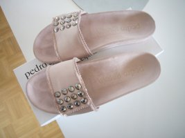Pedro garcia Comfort Sandals dusky pink mixture fibre