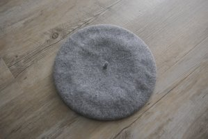 Peek & Cloppenburg Beret light grey-grey wool