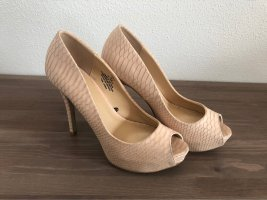 Peep Toes Highheels nude/Rose