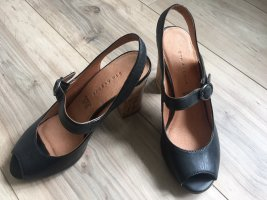 Peeptoe 5th Avenue schwarz Gr. 36