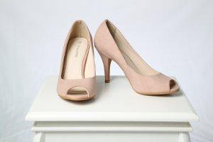 Peeptoe High Heels - 37
