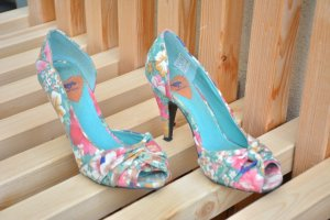 Peeptoe- Pumps Sommerprint