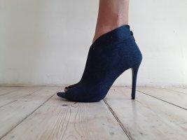 Buty z krótką cholewą z odsłoniętym palcem Wielokolorowy