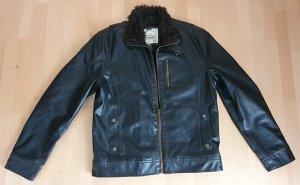 American Rag CIE Bomber Jacket dark brown polyurethane