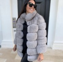 Pelt Jacket light grey