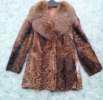 Vintage Pelt Jacket cognac-coloured pelt