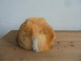 Bontmuts bruin-donker oranje Bont