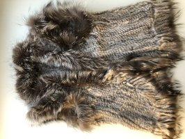 Fur vest grey pelt