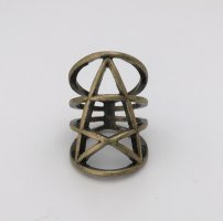 Statement Ring bronze-colored