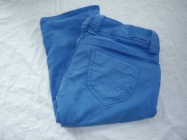 Pepe Jeans Crop Gr 31 königsblau 3/4 lange capri Hose Shorts Jeans Bermuda