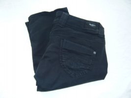 Pepe Jeans Crop Gr 31 schwarz 3/4 lange capri Hose Shorts Jeans Bermuda