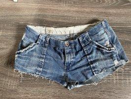 Pepe Jeans hotpants blau jeans Shorts jeansshorts kurze Hose
