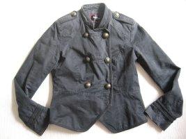 pepe jeans jacke militaer topzustand gr. s 36.m schwarz