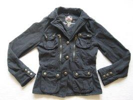 pepe jeans jacke parka sommerjacke schwarz topzustand gr. s 36