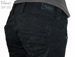 Pepe Jeans Jeansy biodrówki czarny Bawełna