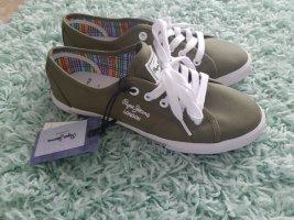 Pepe Jeans Sneaker Gr 38 olive