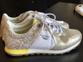 Pepe Jeans Heel Sneakers gold-colored-white