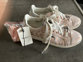 Pepe Jeans Sneakers, rosa-silber leoprint #athleisure