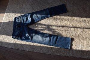 Pepe Jeans Jeans a gamba dritta blu Tessuto misto