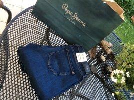 Pepe Skinny Jeans in schöner Waschung navyfarben