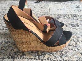 Peppa Rose- High Heel Sandalen- Keilabsatz Gr. 40