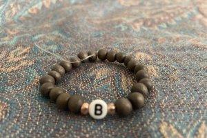 Bracelet gris foncé
