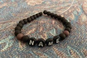 Bracelet noir-violet