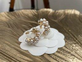 Perlen Creolen neu ungetragen gold Kreolen