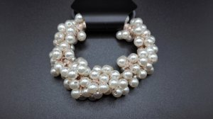 Perlen Haargummi/Armband